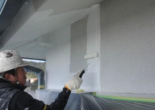 速見郡日出町_U様邸_外壁塗装_下地調整剤塗装0017