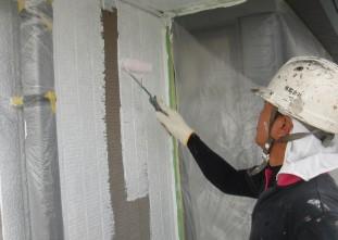 外壁クールテクトサーフ塗装