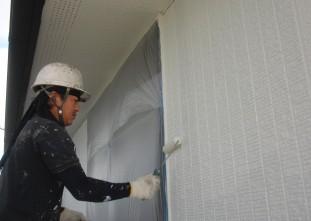 水性クールテクトSi塗装