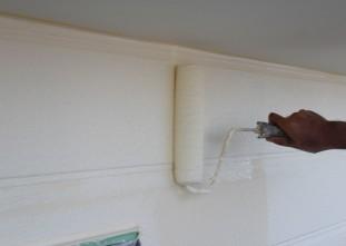 外壁塗装(ガイナ)上塗り