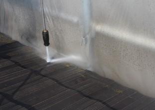 屋根トルネード洗浄