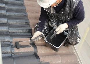 屋根ハイルーフマイルドシリコン遮熱型下塗り