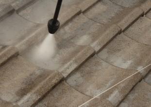 屋根:トルネード高圧洗浄